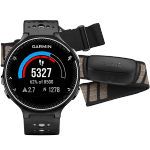 Garmin Forerunner 230 Black & White HRM3